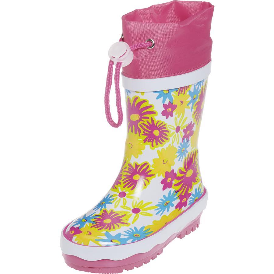 Playshoes Bottes enfant caoutchouc Fleurs