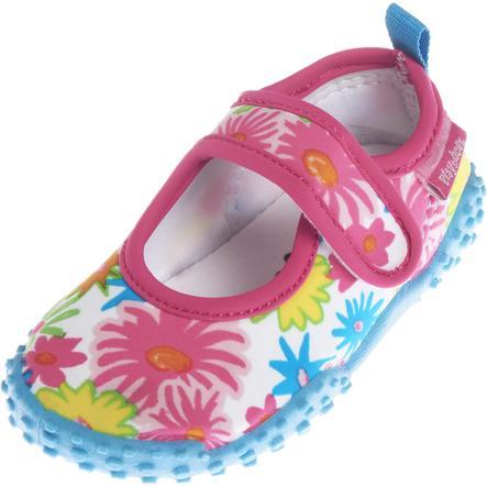 Playshoes Sandales de bain enfant, protection UV, Mer des fleurs