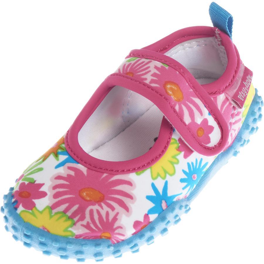 Playshoes Girls UV Boty do vody - květinové moře