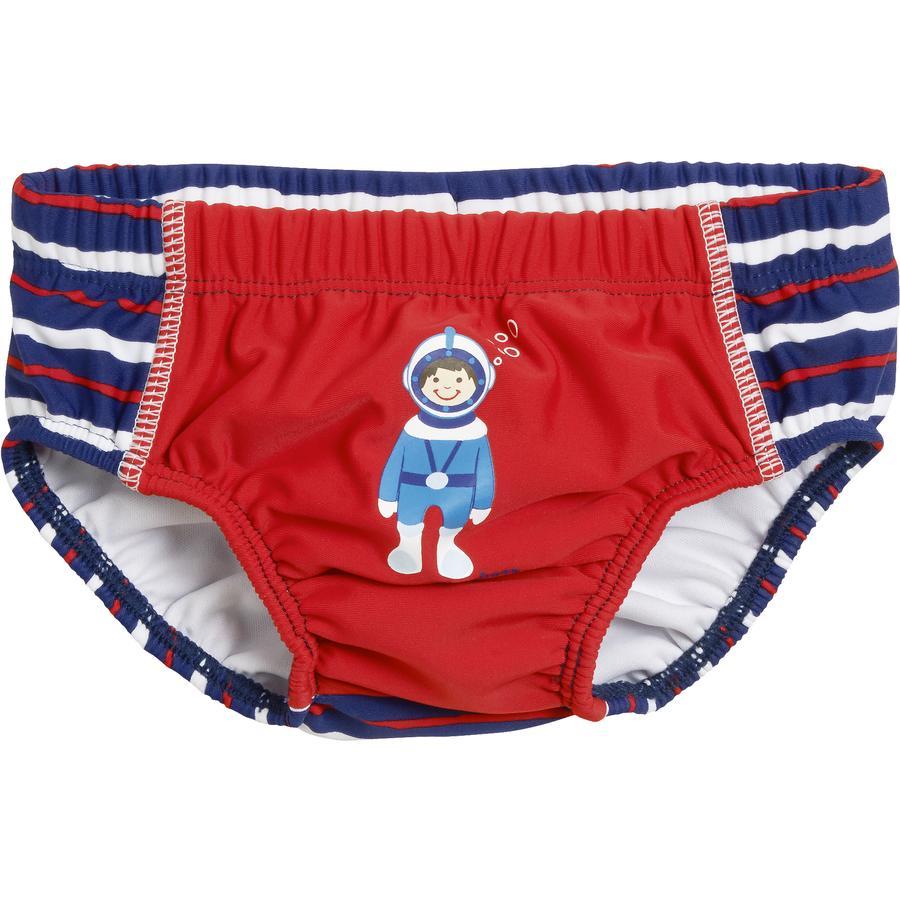 PLAYSHOES Boys Costumino Protezione Anti-UV sub rosso