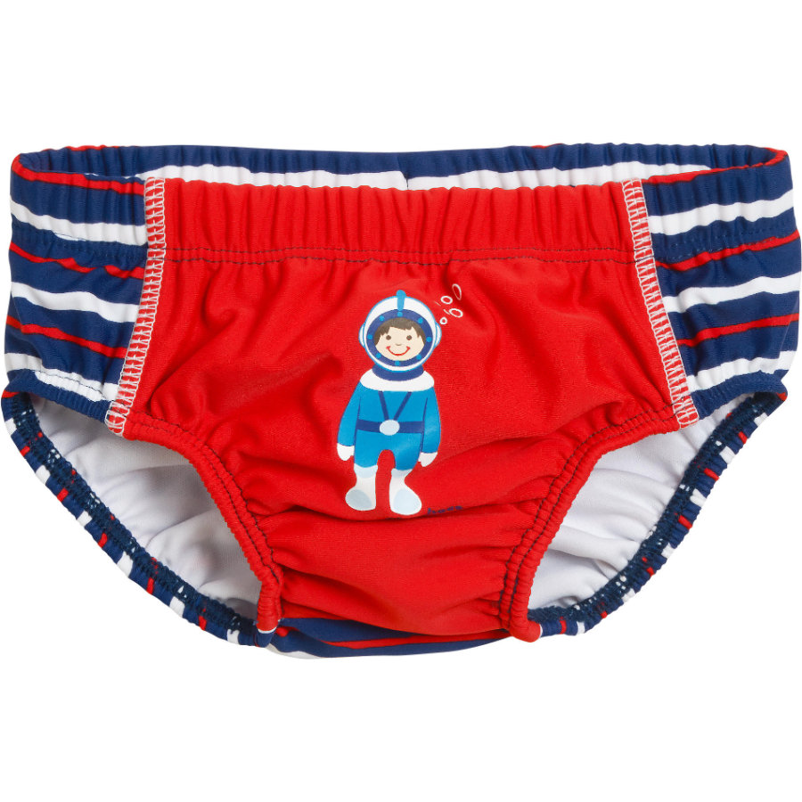 Playshoes  Boys UV-Schutz Windelhose Taucher rot