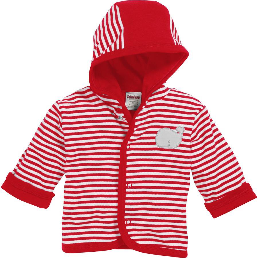 Schnizler Interlock Jacket -valaspunainen
