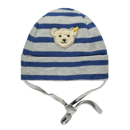 Steiff Boys Czapka stripe blue