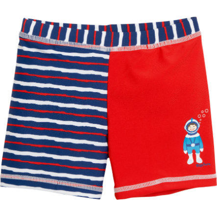 Playshoes Short de bain enfant, protection UV, Scaphandre, rouge