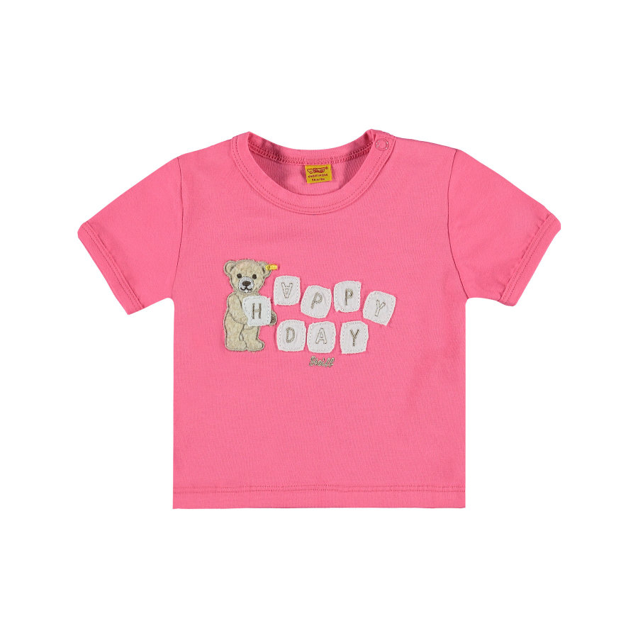 Steiff Girls T-Shirt hot pink