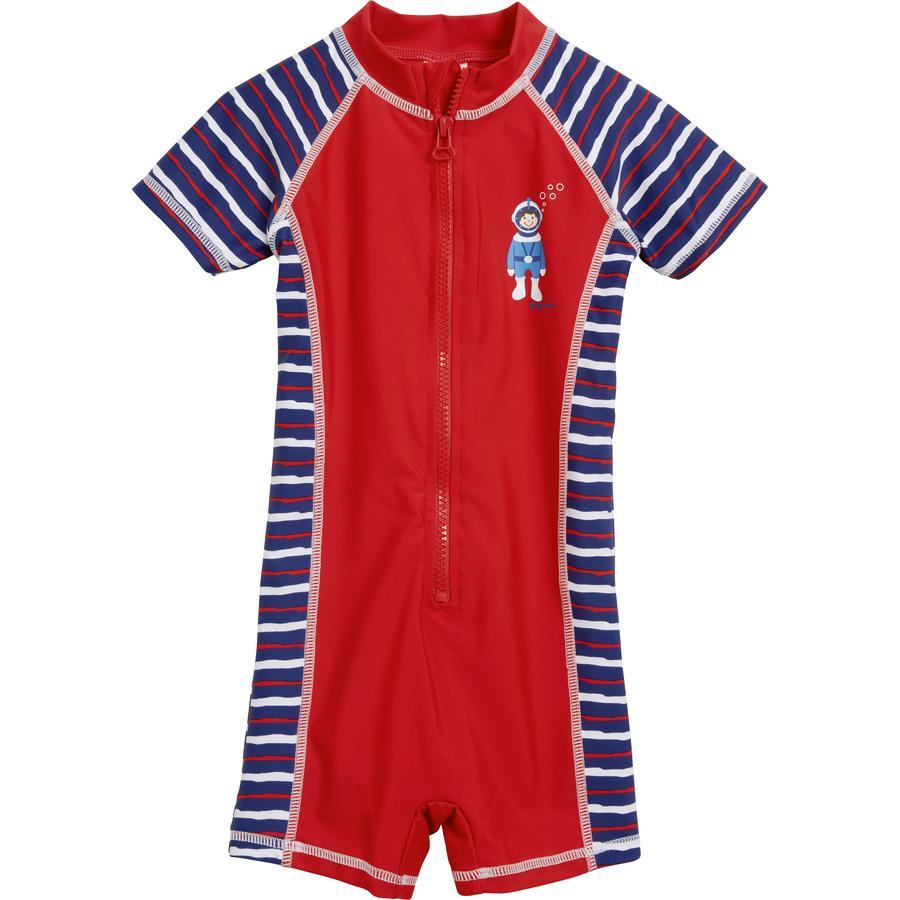 PLAYSHOES Costume intero Protezione Anti-UV sub rosso