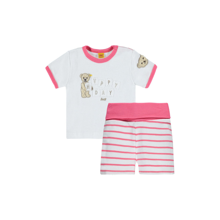 Steiff Girls Set 2-teilig hot pink