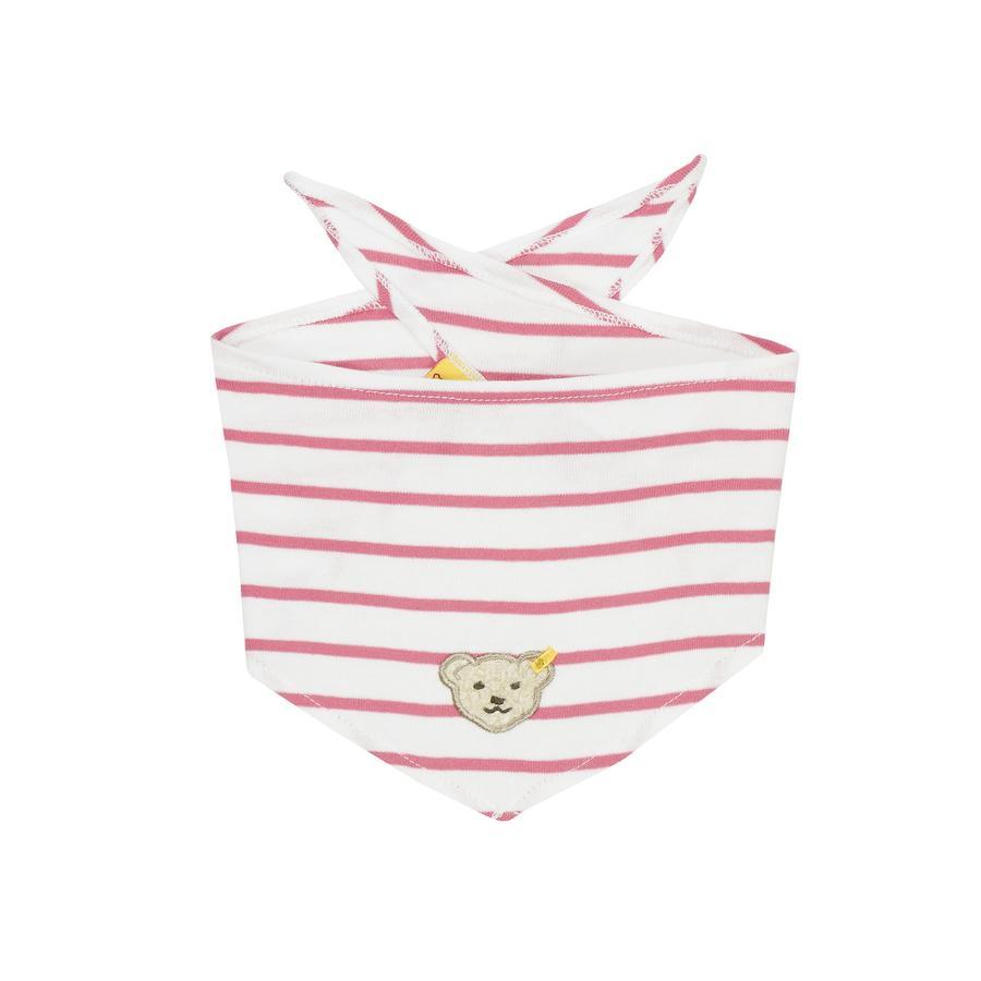 Steiff Girls trekantstørklæde hot pink