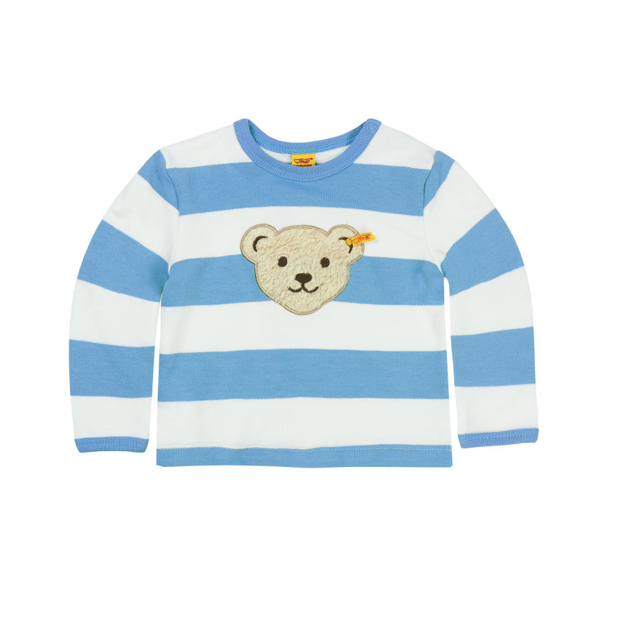 Steiff Boys Sweatshirt milky blue
