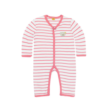 Steiff Girls Schlafanzug hot pink