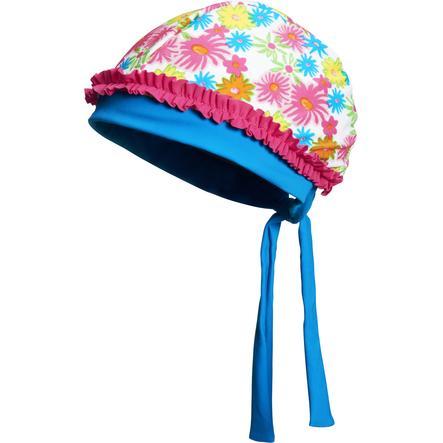 Playshoes Cappuccio di protezione dai raggi UV mare di fiori