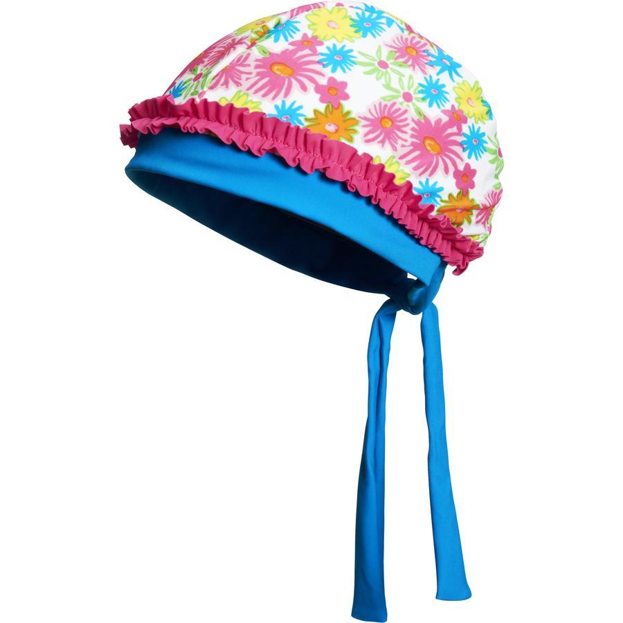 Playshoes čepice s UV ochranou květovaná