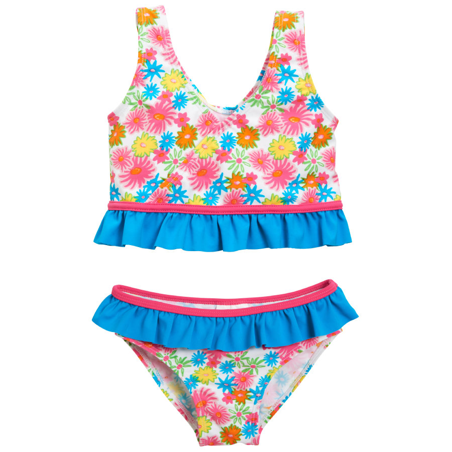 Playshoes Bikini enfant, protection UV, Mer des fleurs