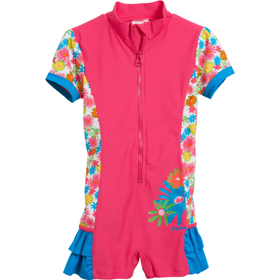 Playshoes Combinaison enfant, protection UV, Ohé, bleu jean