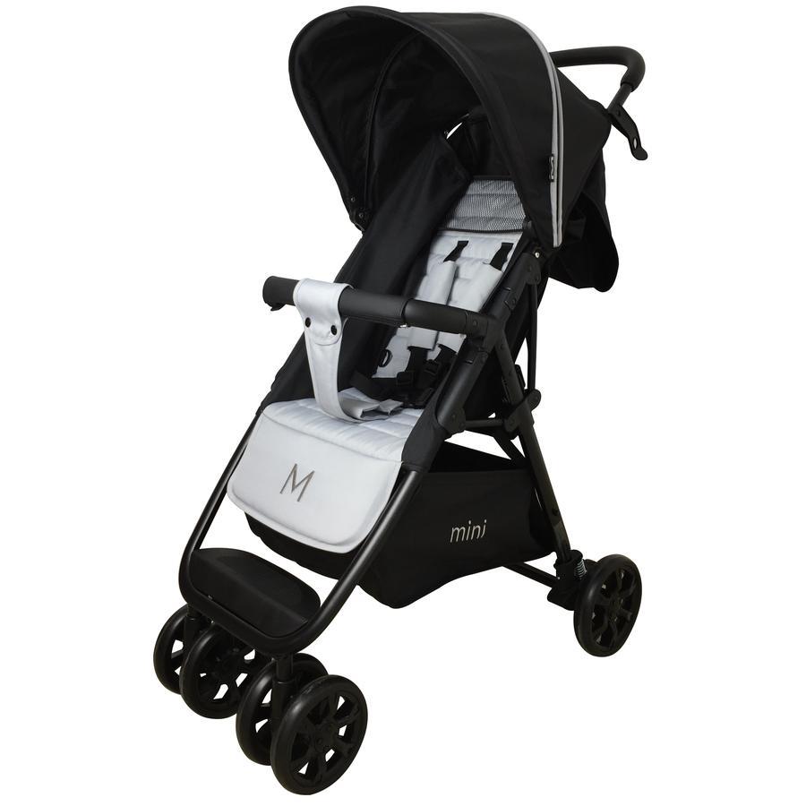 MOON Passeggino leggero Mini nero/grigio