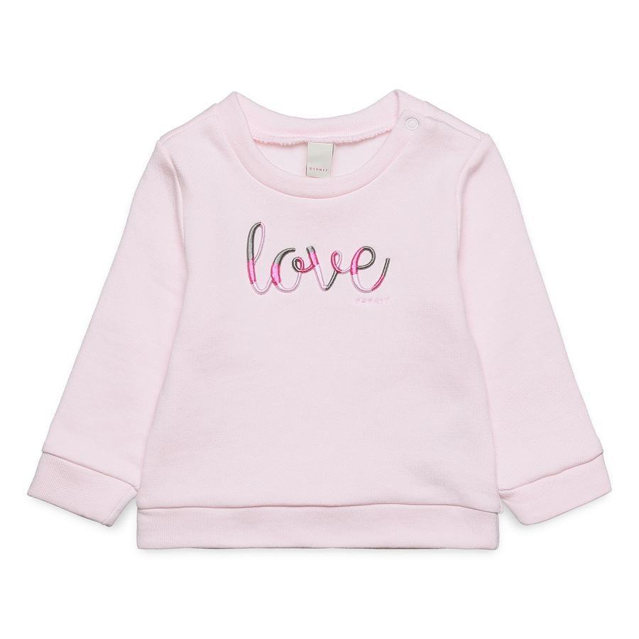 ESPRIT Sweatshirt pastellrosa