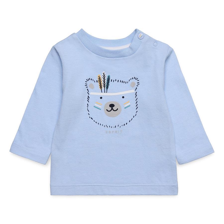 ESPRIT Langarmshirt pastel blue
