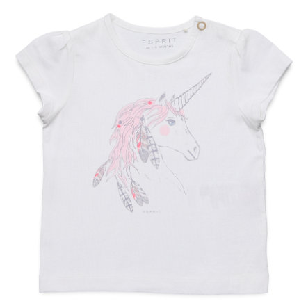 ESPRIT T-Shirt white Unicorn