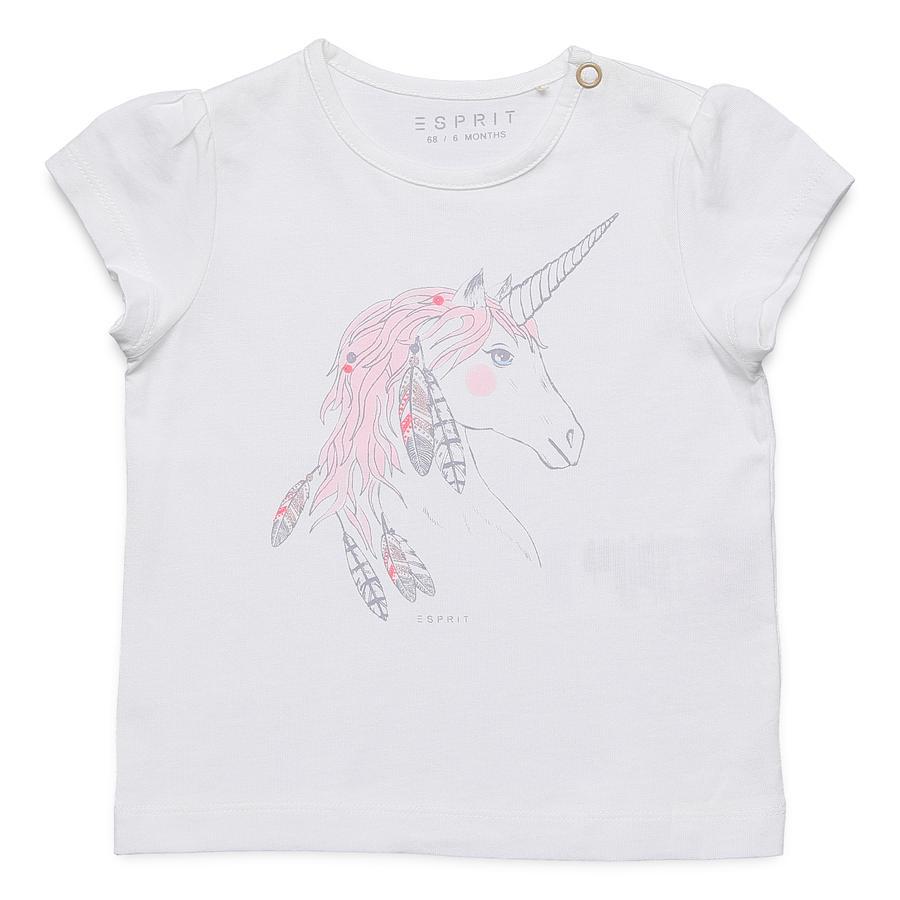 ESPRIT T-Shirt Licorne blanche