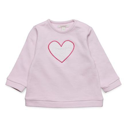 ESPRIT Bluza bluza Facette jasnoróżowa