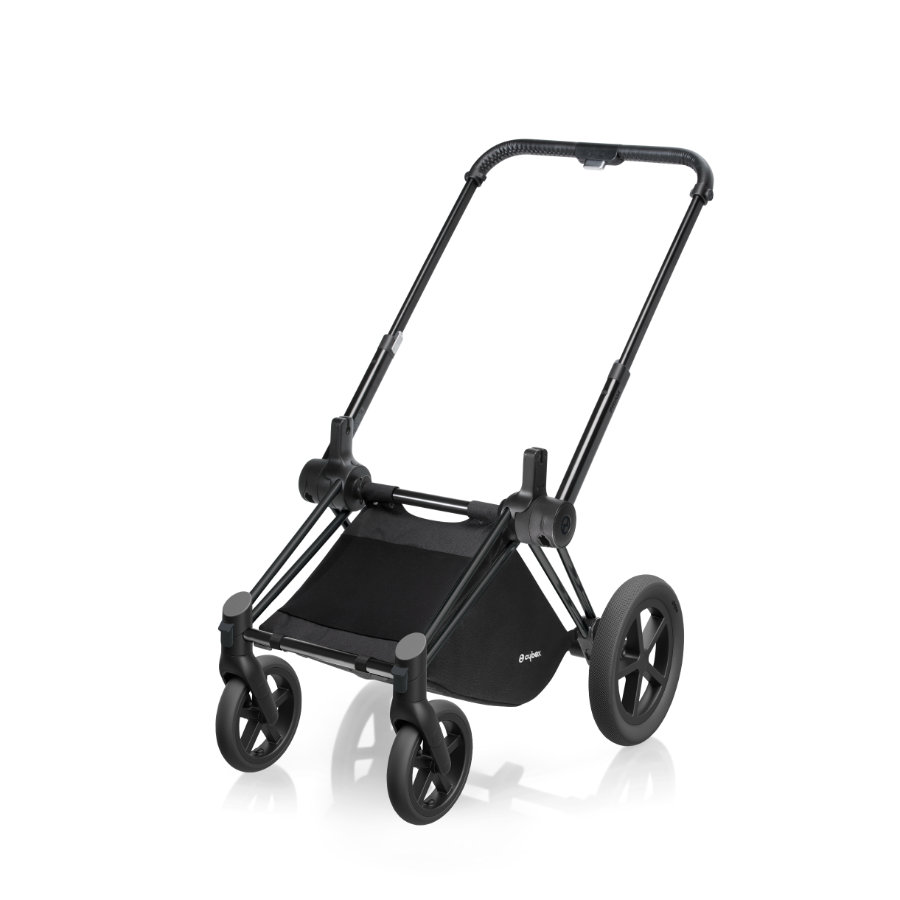 cybex PLATINUM Rahmen Priam Matt Black inklusive Radset Priam All Terrain