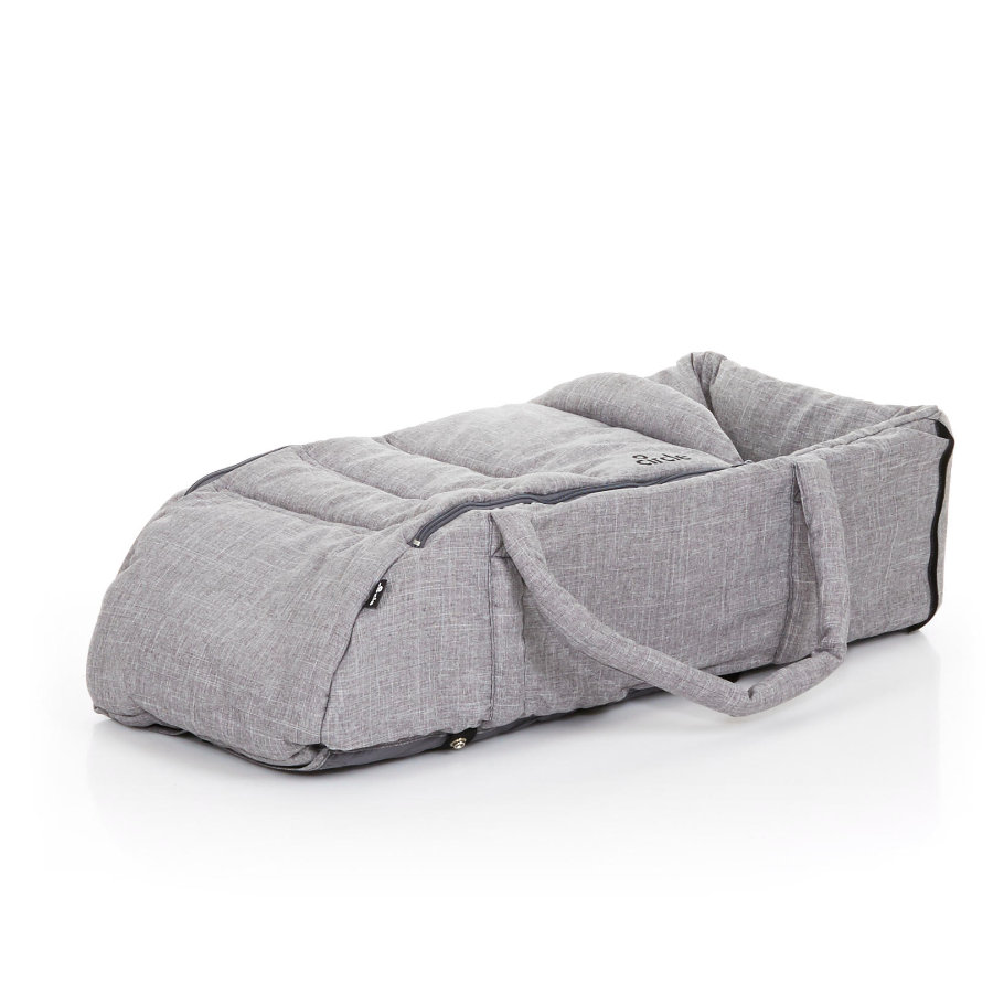 ABC DESIGN Soft-Tragetasche Circle woven grey