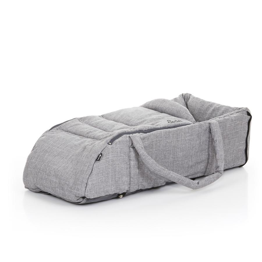Přenosná taška ABC DESIGN Carry Soft Circle woven grey