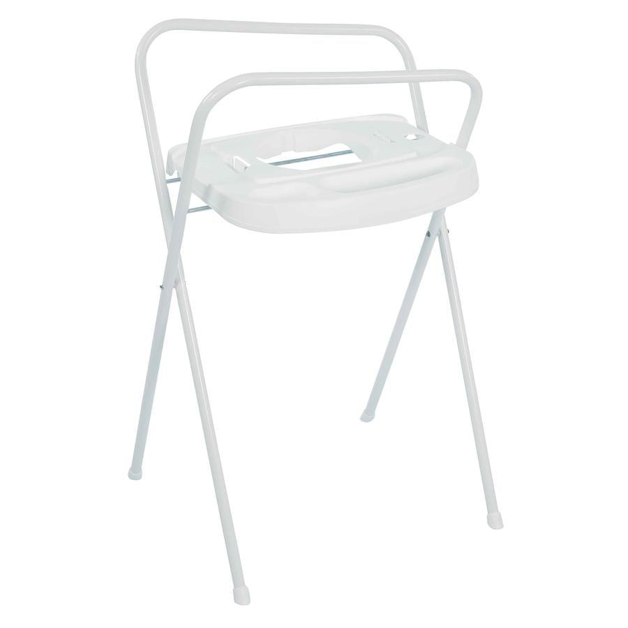 bébé-jou® Support de baignoire bébé Click Confetti Party blanc 103 cm
