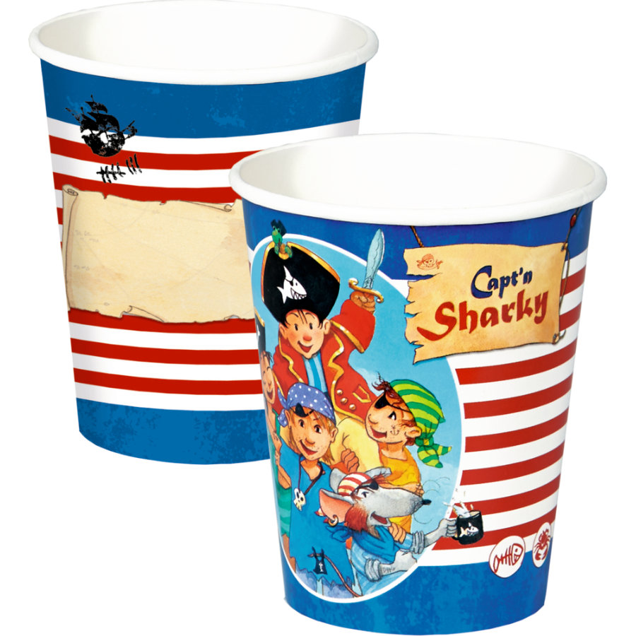 COPPENRATH Partybecher Capt'n Sharky