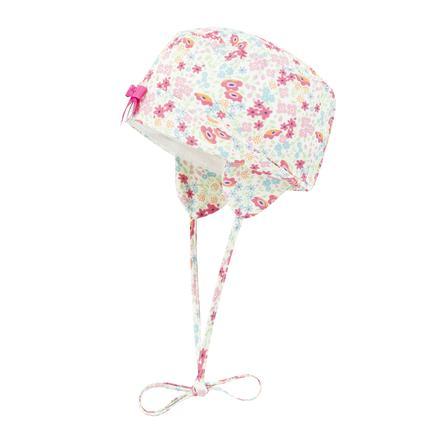 Döll Girl s sombrero flores fucsia rosa