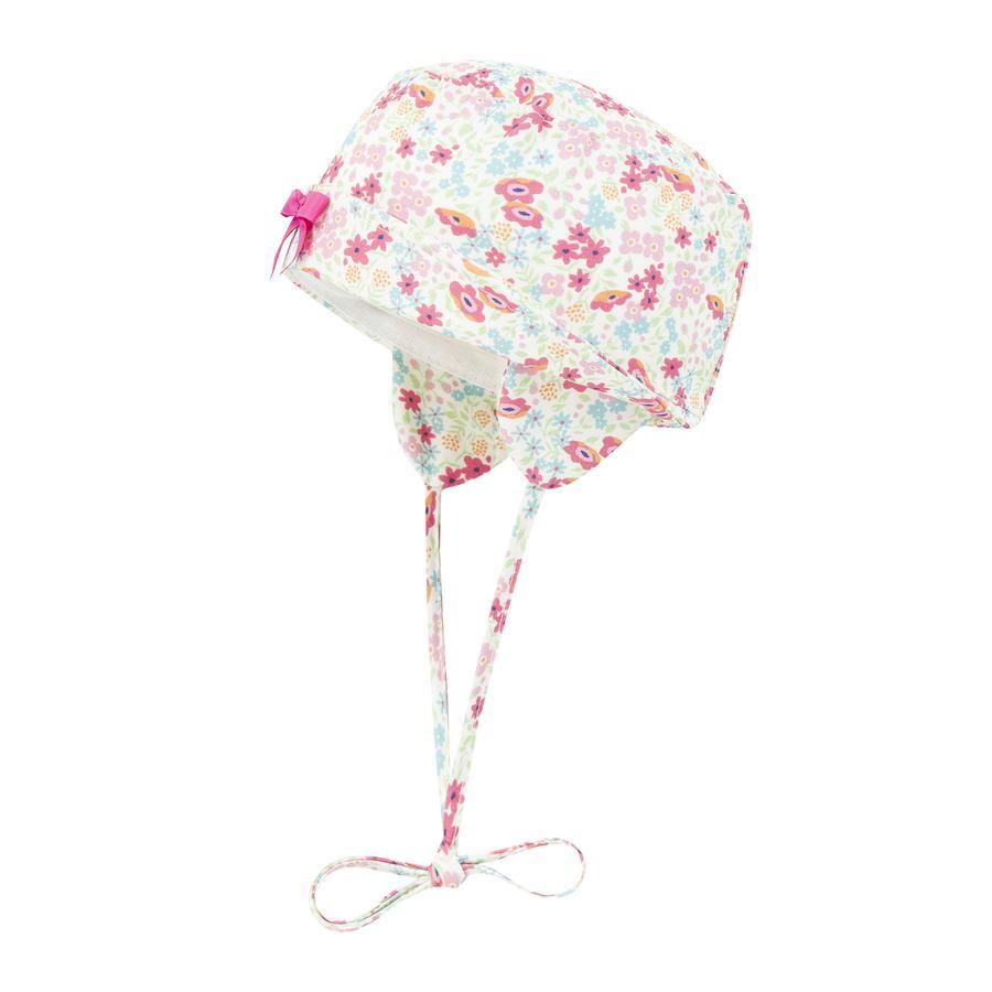 Döll Girls Hut Blumen fuchsia pink