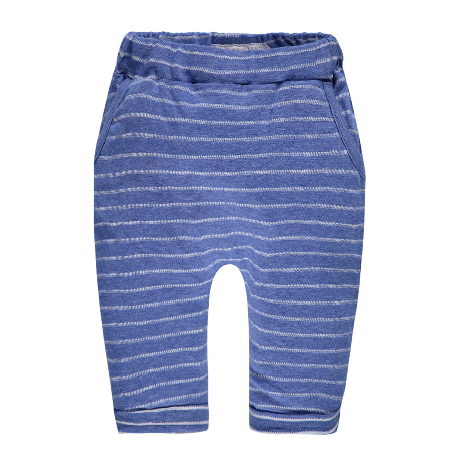 bellybutton Boys Pantalon de survêtement à rayures bleu