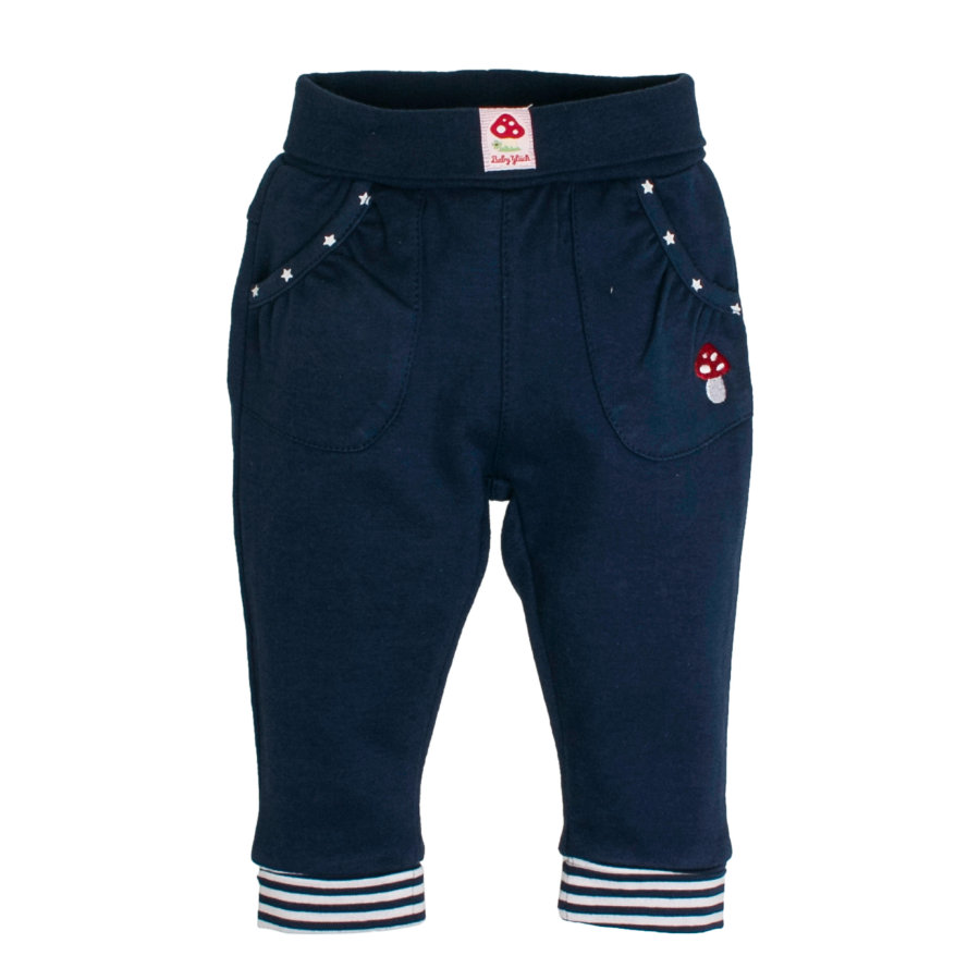 SALT AND PEPPER Baby Glück Girls Sweathose navy blue