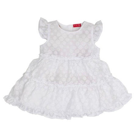 SALT AND PEPPER Girls Kleid Punkte white