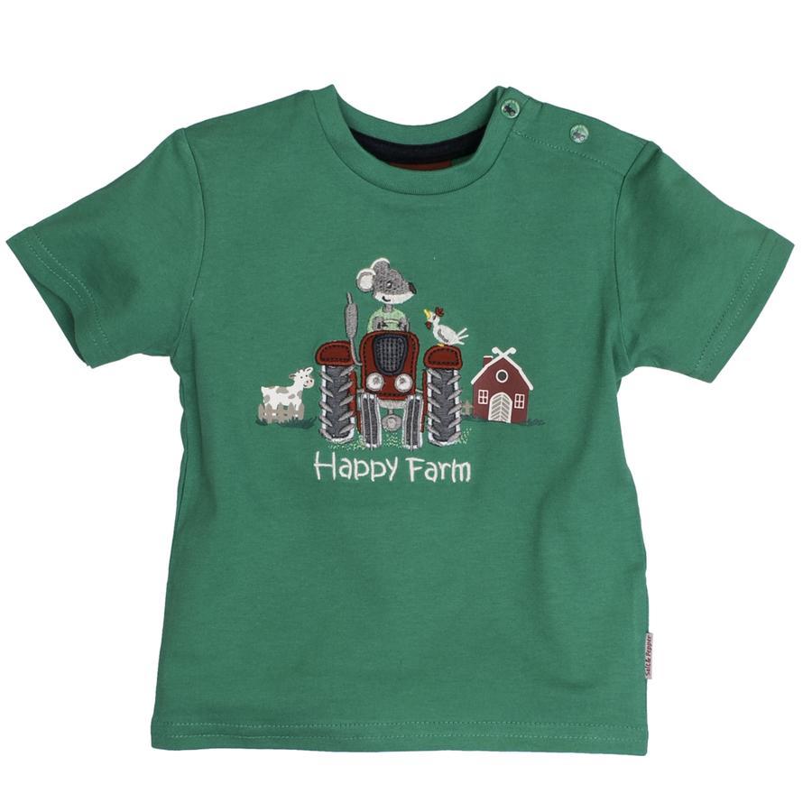 SALT AND PEPPER Boys T-Shirt ferme verte heureuse
