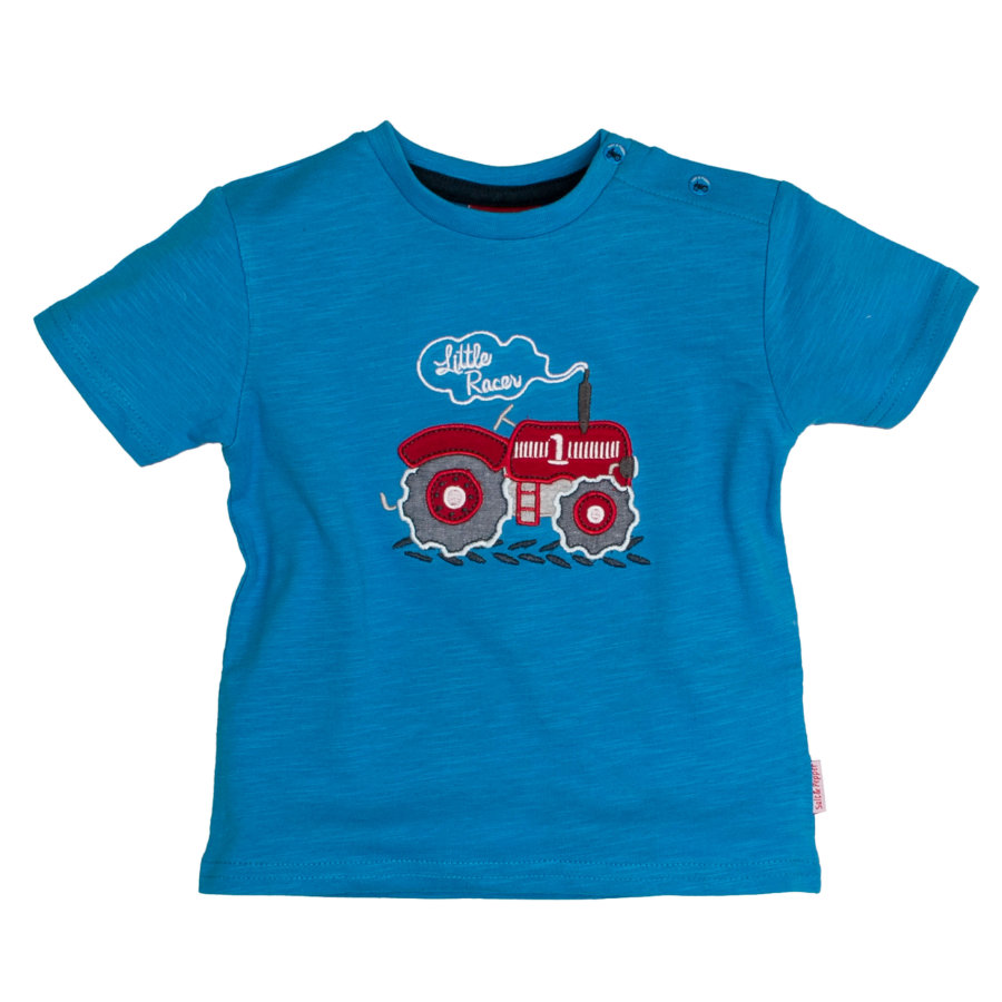 SALT AND PEPPER Boys T-Shirt Traktor malibu blue