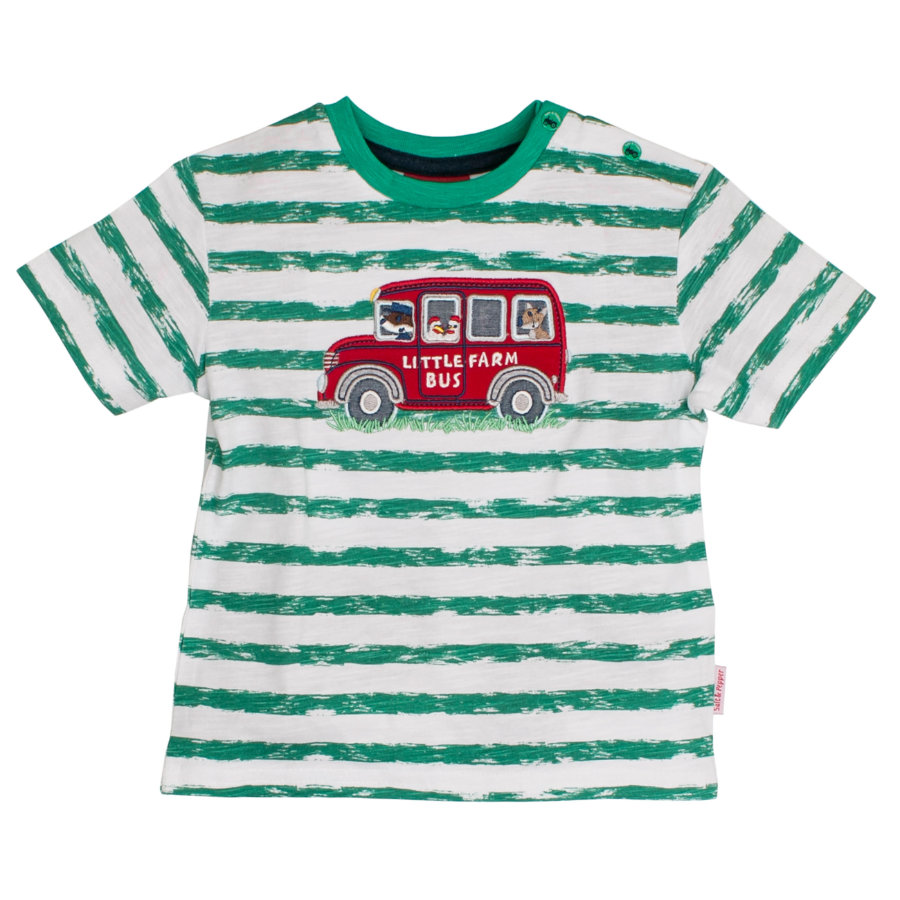 SALT AND PEPPER Boys T-Shirt Ringel green