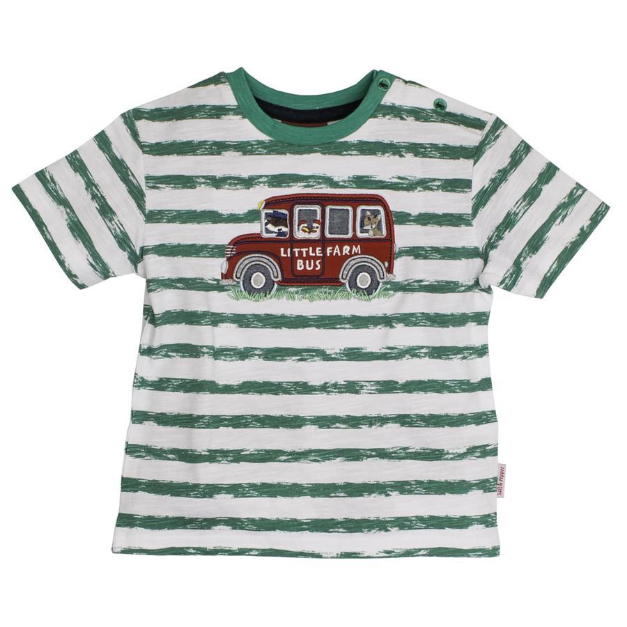 SALT AND PEPPER T-skjorte for gutter Ringelgrønn