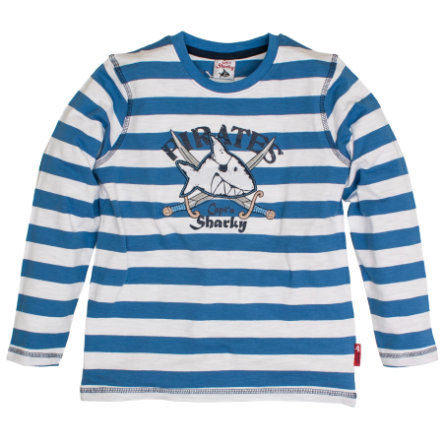 Capt'n Sharky by SALT AND PEPPER Boys Longsleeve Ringel cool blue