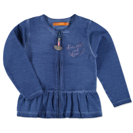 STACCATO Girl s zweetjack jeans blauw