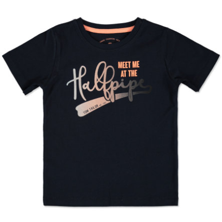 TOM TAILOR T-Shirt real navy blue