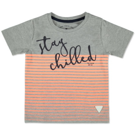 TOM TAILOR Boys T-Shirt medium grey melange