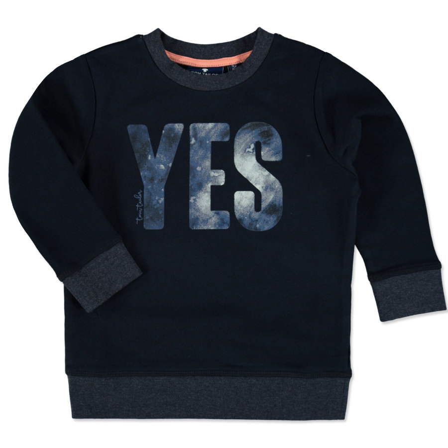 TOM TAILOR Boys Sweatshirt real navy blue
