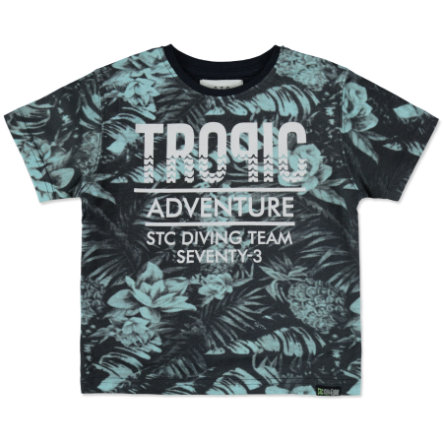 STACCATO Boys T-Shirt atrament ciemny Tropic