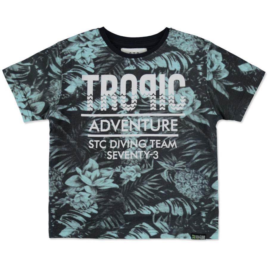 STACCATO Poikien T-paita tumma muste Tropic