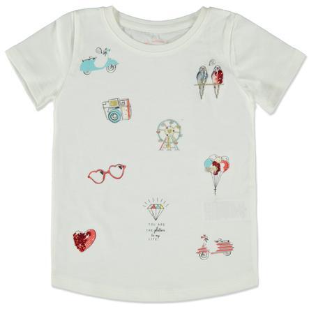 TOM TAILOR Girl s T-Shirt soft blanc clair