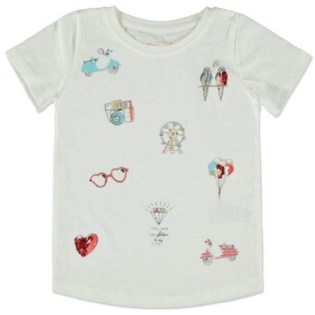 TOM TAILOR Girls T-Shirt soft clear white
