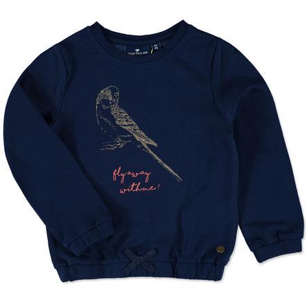 TOM TAILOR Girls Sweatshirt estate blue