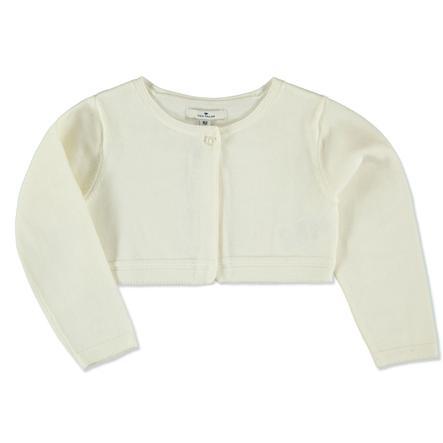 TOM TAILOR Girls Bolero soft clear white