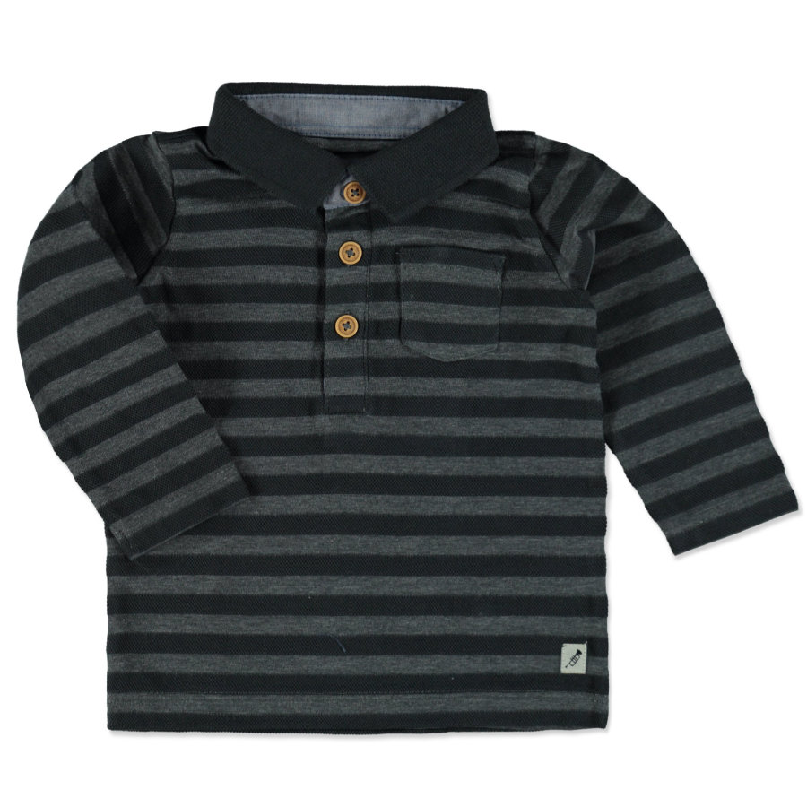 TOM TAILOR Boys Polo ink black
